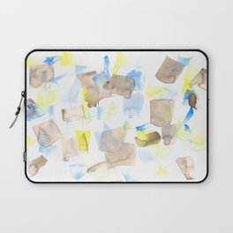 180515 WATERCOLOUR ABSTRACT WP 18| Watercolor Brush Strokes Laptop Sleeve