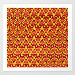 Pattern Art Print