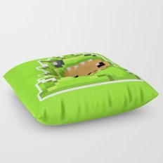 8bit Dinobear Floor Pillow