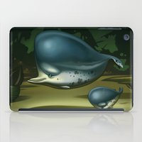 dolphin iPad Cases featuring Dolphin by Mibramig