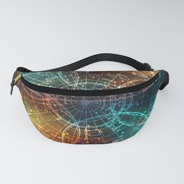 Star Map Fanny Pack