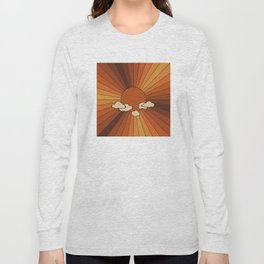 Retro Sunshine Long Sleeve T-shirt