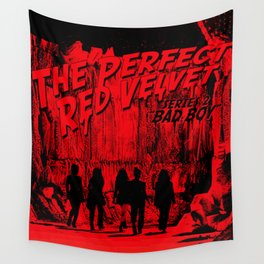 "The Perfect Red Velvet ""Bad Boy"" Wall Tapestry"