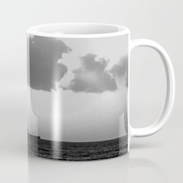 Evening clouds over the sea Coffee Mug