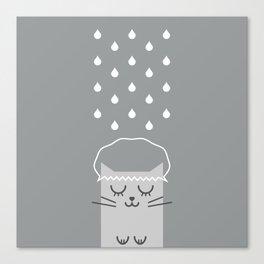 Banho de Gato Canvas Print
