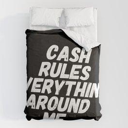 Cash Rules CREAM Comforters