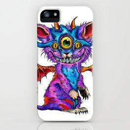 Fluffy Mind Creature  iPhone Case