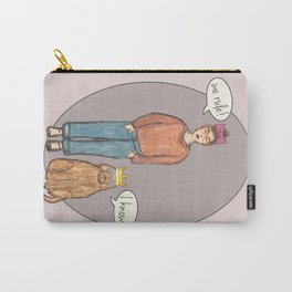 we rule! pink Carry-All Pouch