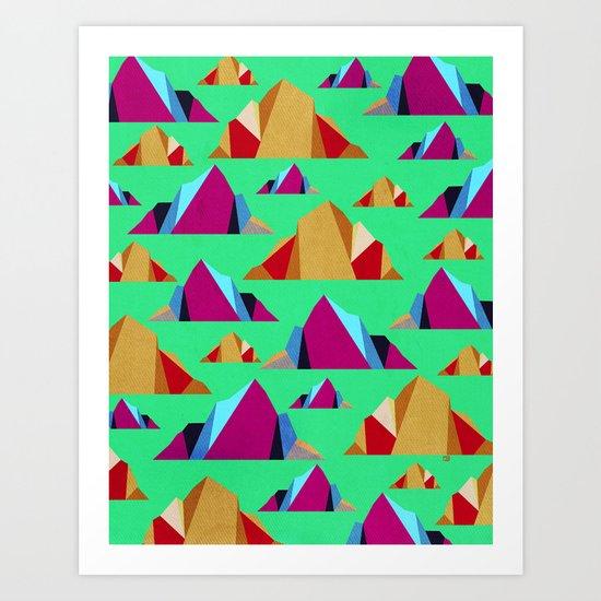 Mega Mountain Art Print