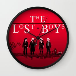 The Lost Boys Wall Clock