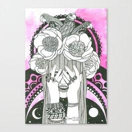 Hommage to Hindi Zahra Canvas Print