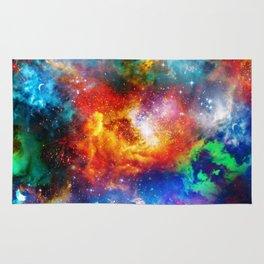 Galaxy Print Rug