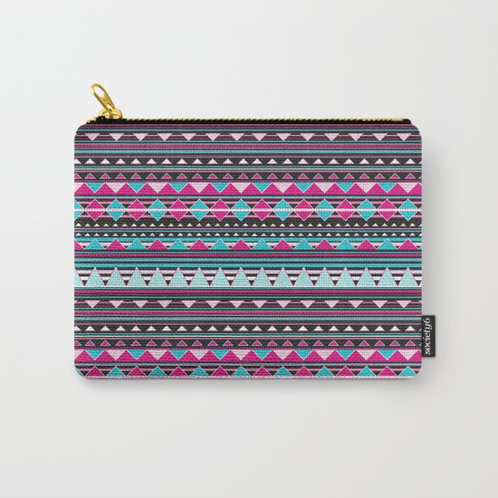 Aztec Stripes by Everett Co Carry-All Pouch