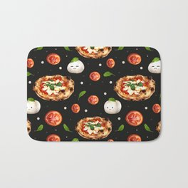 Neapolitan Pizza with  Bath Mat