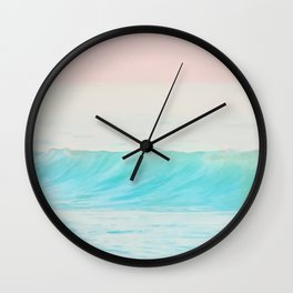 Pastel sea Wall Clock