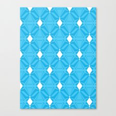 Abstract [BLUE] Emeralds Canvas Print