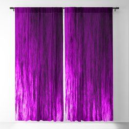 Bright texture of shiny foil of pink flowing waves on a dark fabric. Blackout Curtain