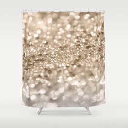 Gold Lady Glitter #2 #shiny #decor #art #society6 Shower Curtain