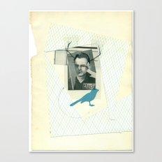 bluebird of... Canvas Print