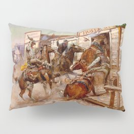 In Without Knocking Pillow Sham