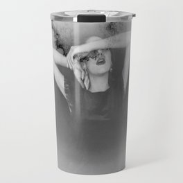 """""""observed over expected mortality"""" Travel Mug"""