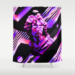 Vivid Statue Shower Curtain