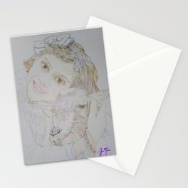 Madilyn and Pepper Stationery Cards