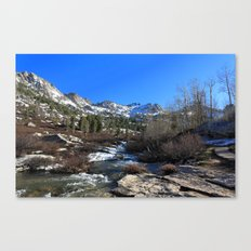 Lamoille Canyon Canvas Print