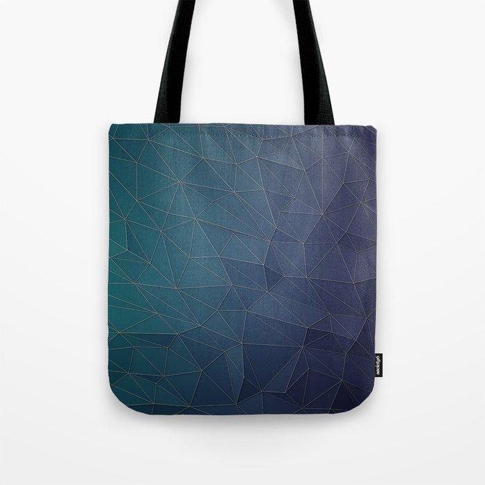 Elegant Low Poly Web Tote Bag