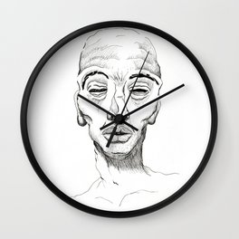 Portrait 1 Wall Clock