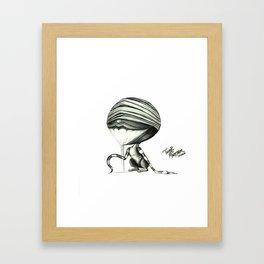 TWERK BETCH ! Framed Art Print