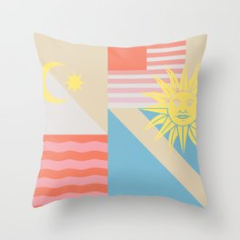 Sun & Sky Throw Pillow