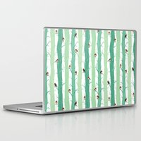 robin Laptop & iPad Skins featuring Robin by Karina R