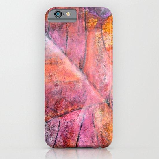 Leaf Rubbing iPhone & iPod Case