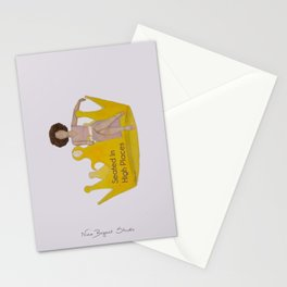Seated in High Places Stationery Cards
