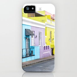 Bo Kaap Neighborhood iPhone Case
