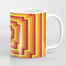 Technicolour Cross - Orange Mug