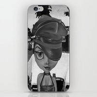 sassy iPhone & iPod Skins featuring Sassy by Plume 111