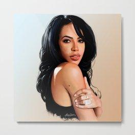 Aaliyah #2 Metal Print