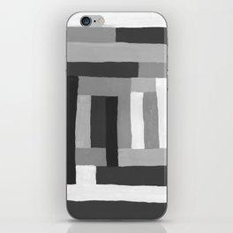 Painted Color Blocks iPhone Skin