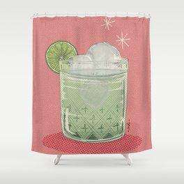 LEMON TONIC Shower Curtain