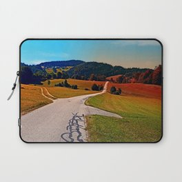 The legend of the tarmac worms goes on Laptop Sleeve