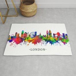 London England Skyline Rug