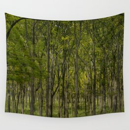 Indiana Tree Farm Wall Tapestry