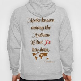 Make known Hoody