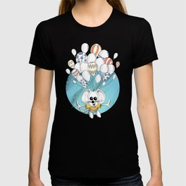 Rikiki the mouse and his balloons T-shirt