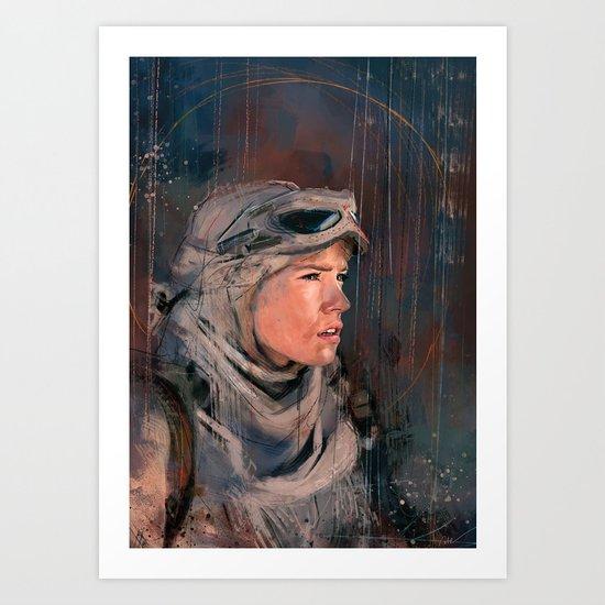 The Scavenger Art Print