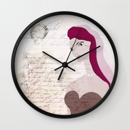 JEZEBEL VINTAGE II Wall Clock