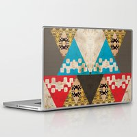 evil Laptop & iPad Skins featuring Evil Triangles by ohzemesmo