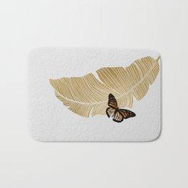 Butterfly & Palm Bath Mat